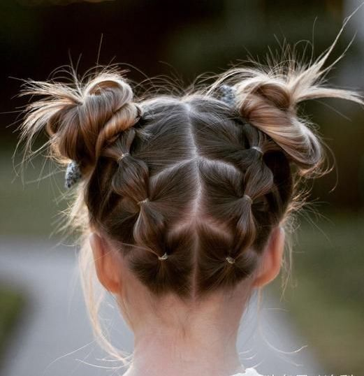 Ідеї зачіски для школярок, фото