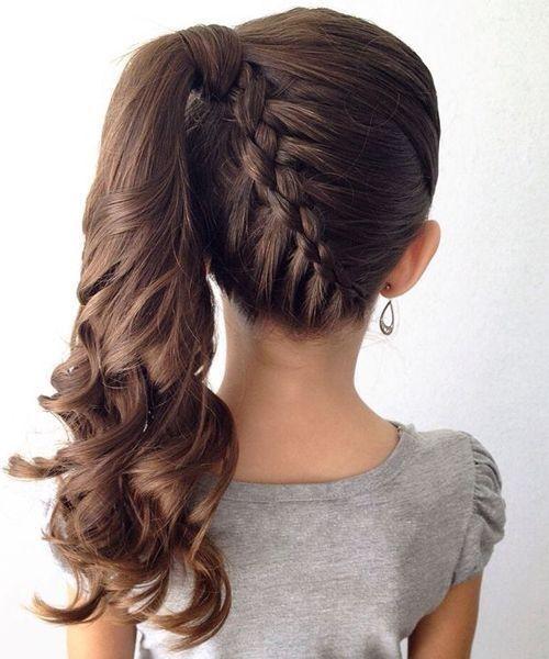 Зачіска на перше вересня й інші свята з косами ідеї з фото