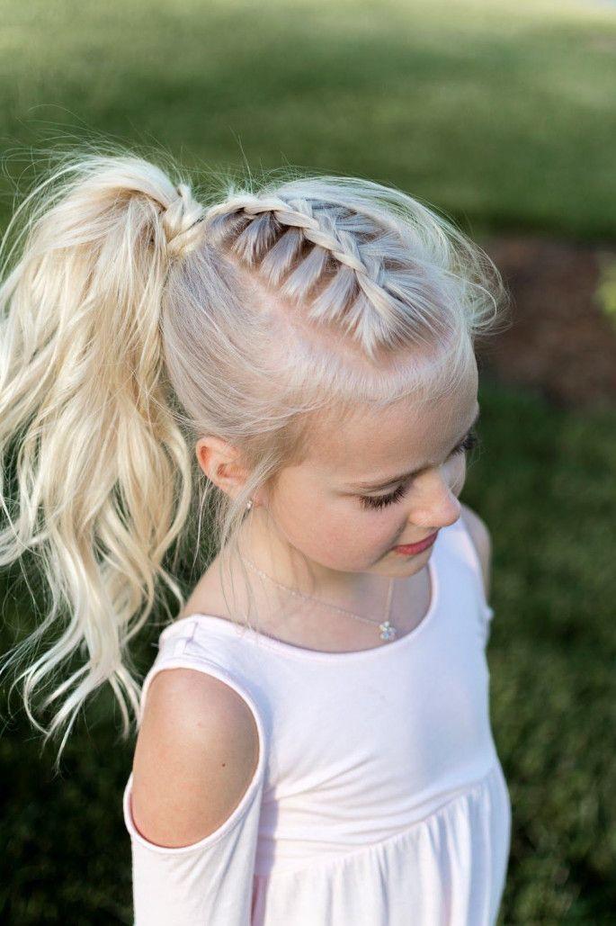 Зачіска для дівчинки