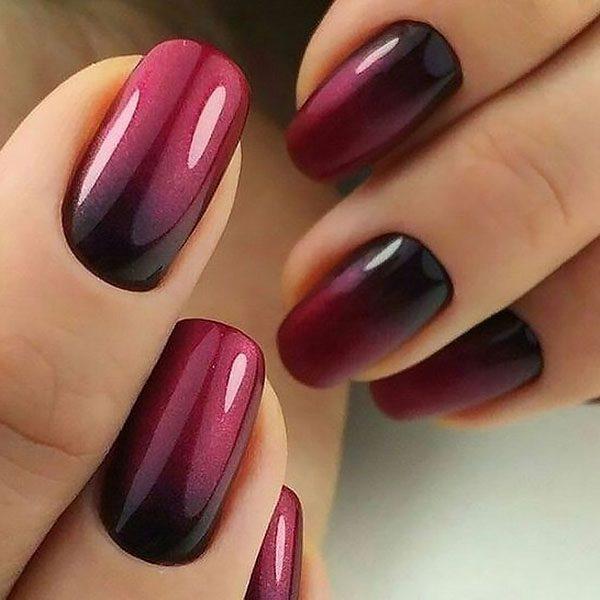 модне покриття нігтів омбре