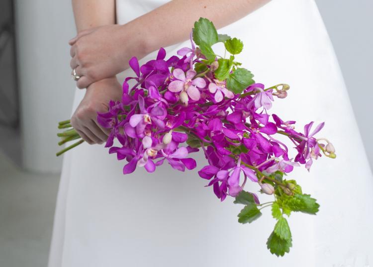 Весільні букети для нареченої, в якої є алергія