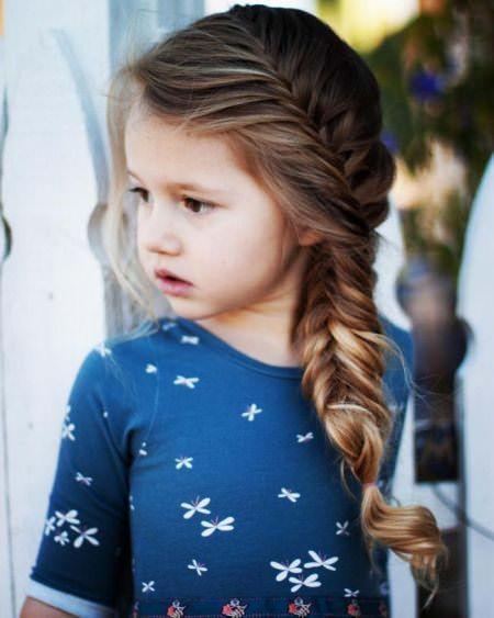 Плетені зачіски для дівчаток