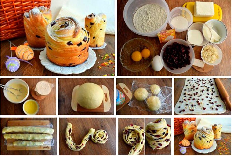 Рецепт неймовірно смачної паски-краффін, яка стане прикрасою на Великдень