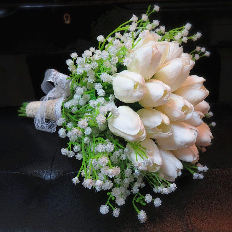 Для наречених з алергією: весільні букети без аромату