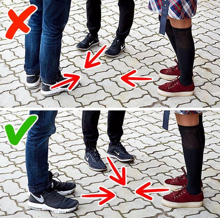 Секрети ділового спілкування: звертайте увагу на положення ніг при розмові з іншими людьми