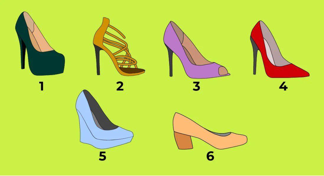 тест з туфлями