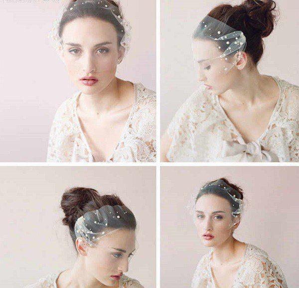 Весільні аксесуари: модні прикраси для зачіски у 2020 році
