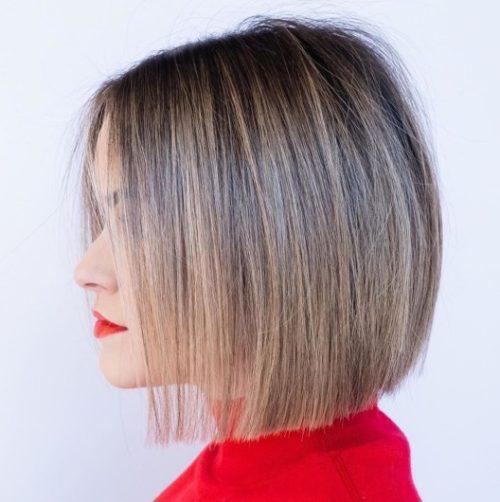 Стрижка Боб-каре на тонке волосся, фото