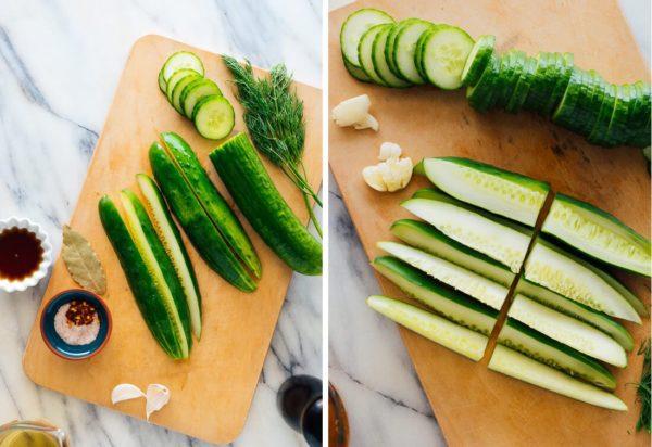 Мариновані огірки будуть готові всього за 15 хвилин за простим рецептом