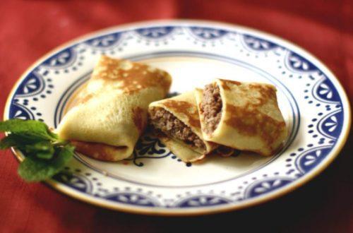 Рецепт начинки для млинців з м'ясом
