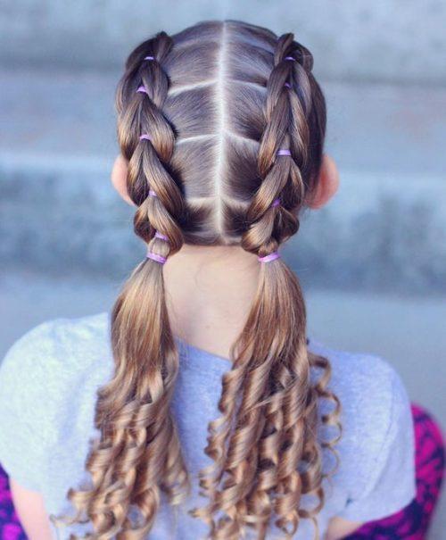 Ідеї зачіски для дівчаток, фото