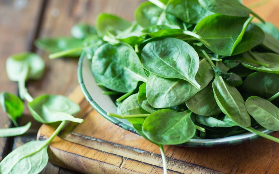 Вирощування шпинату навесні