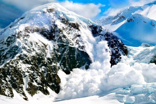 Схід снігової лавини – це природна стихія, яка характеризує Діву
