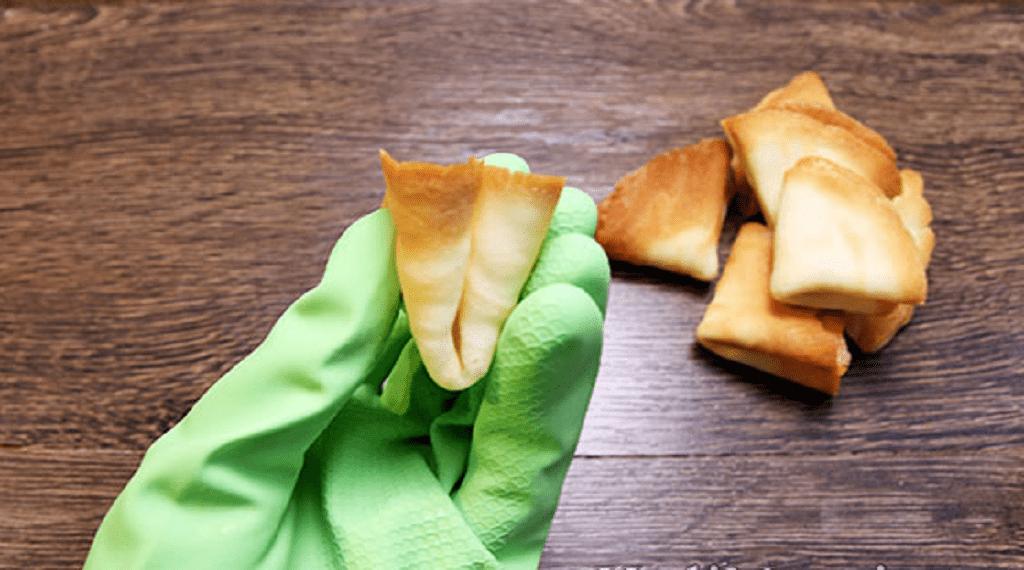 Печиво з пророцтвами робимо трикутничком