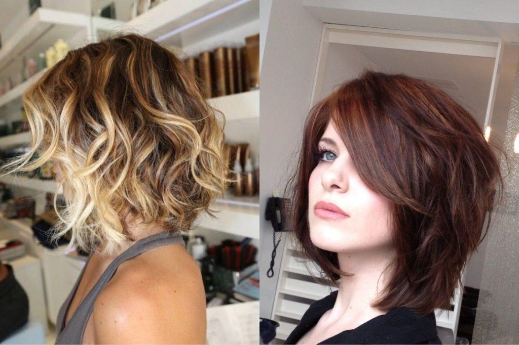 Святкова зачіска в образі легкої недбалісті на коротке волосся