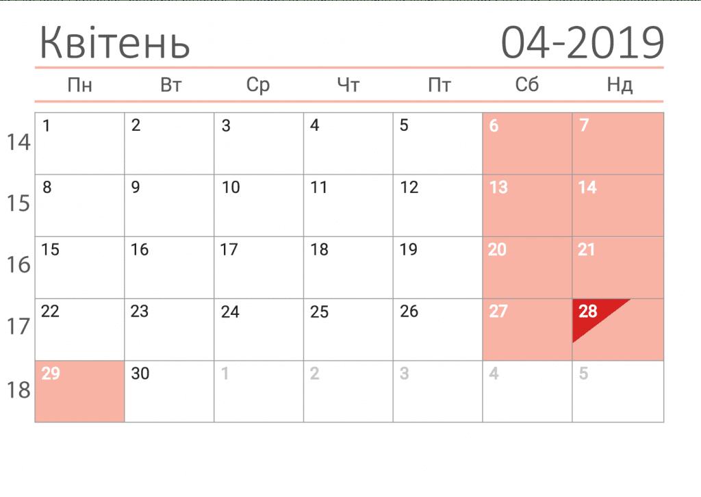 Коли Пасха в 2019 році нам підказує церковний календар