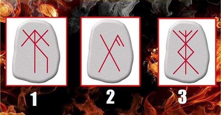 Тест з символами на каменях