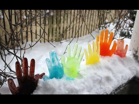 Що робити коли немає снігу на ділянці: ідеї декору з льоду