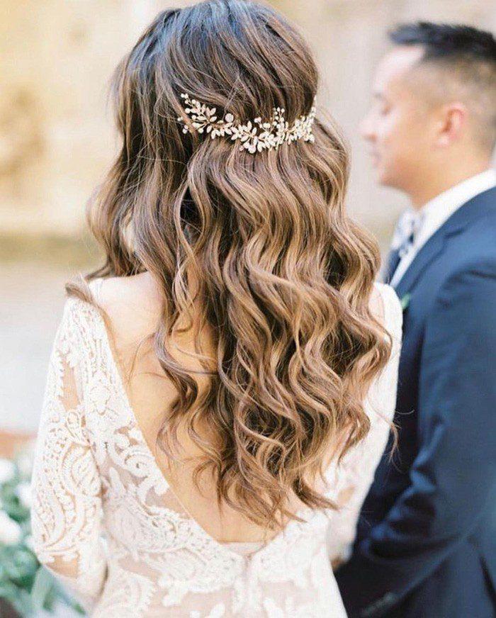 Весільні зачіски для різного волосся