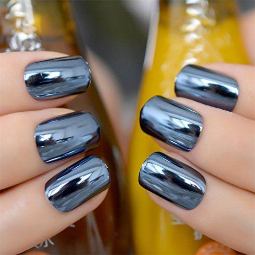 Модний святковий манікюр 2020 кольору металік, сріблястий, золотистий, різнокольоровий