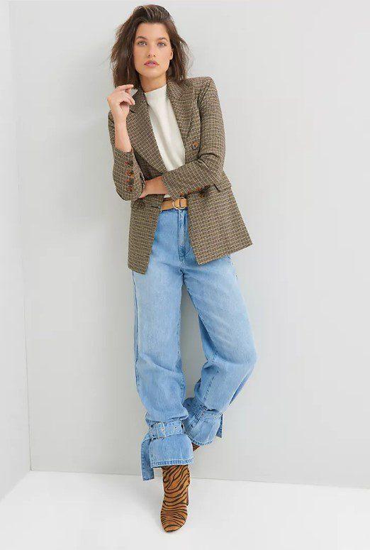Багі джинси з манжетою