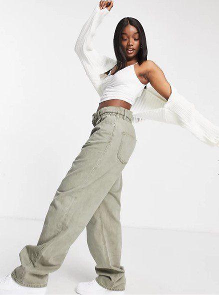 Багі джинси в релакс стиль