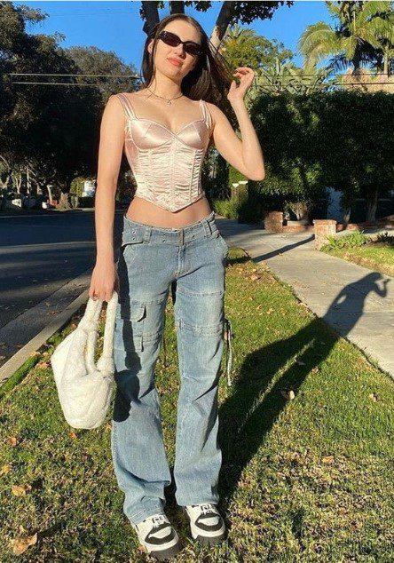 Карго багі джинси