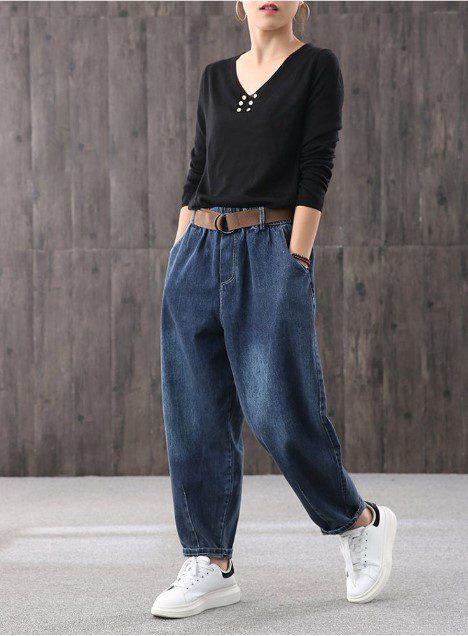 Комфортні стрітстайл багі джинси