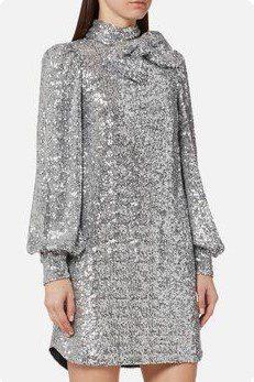 Блискуча сукня в стилі ретро, сукня з паєтками